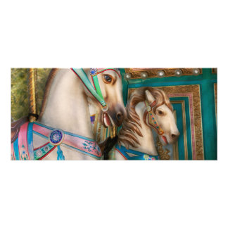 Americana - Carousel beauties Rack Card