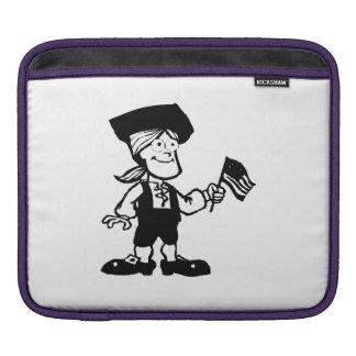 Americana Cartoon iPad Sleeves