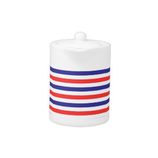 Americana colors teapot