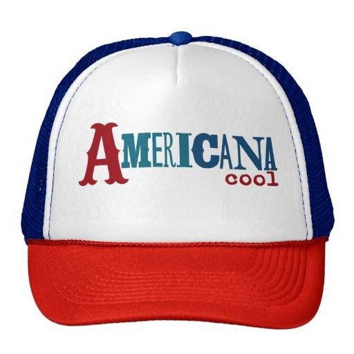americana cool trucker hat zazzle