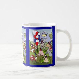 Americana Country Life Celebration Coffee Mug