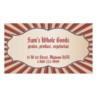 Americana Double-Sided Standard Business Cards (Pack Of 100)