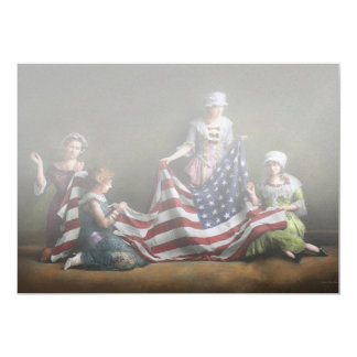 Americana - Flag - Birth of the American Flag 1915 Card