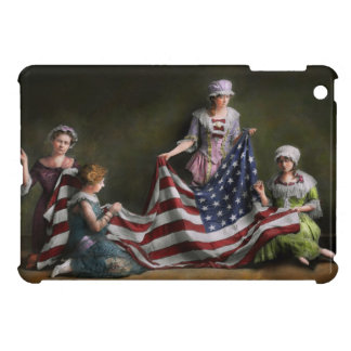 Americana - Flag - Birth of the American Flag 1915 Cover For The iPad Mini