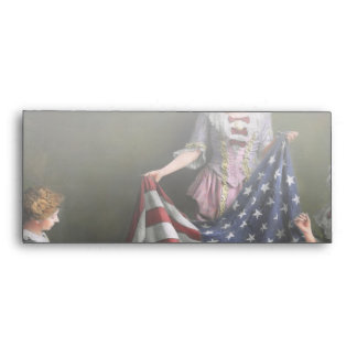 Americana - Flag - Birth of the American Flag 1915 Envelope