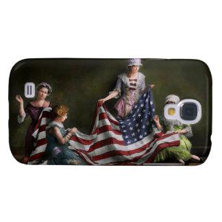 Americana - Flag - Birth of the American Flag 1915 Galaxy S4 Case