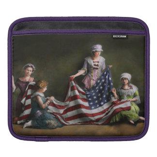 Americana - Flag - Birth of the American Flag 1915 iPad Sleeve