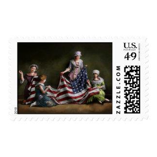 Americana - Flag - Birth of the American Flag 1915 Postage