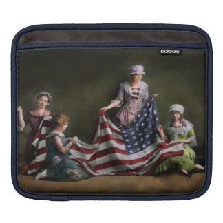 Americana - Flag - Birth of the American Flag 1915 Sleeve For iPads
