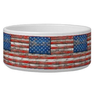 USA Themed Americana Flag Bowl