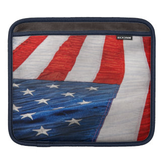 Americana - Flag - Stars and Stripes Sleeves For iPads