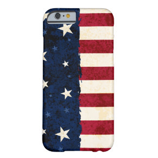 Americana Folk Stars & Stripes Patriotic Barely There iPhone 6 Case