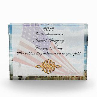 Americana - Fort Hood TX - Unfolding the flag 1944 Acrylic Award