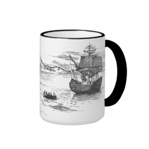 Americana:  Going Ashore Ringer Mug
