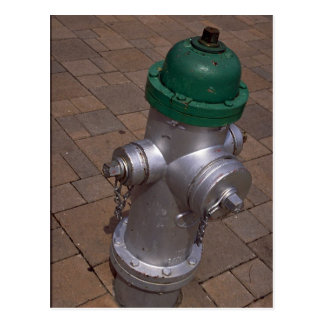 Americana (hydrant), Florida, U.S.A. Postcard