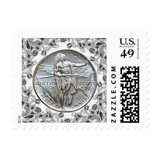 Americana Images Stamp