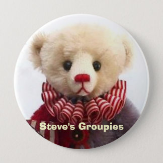 Americana Jester Bear Created by Steve Schutt Button
