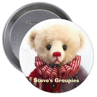 Americana Jester Bear Created by Steve Schutt Button