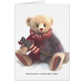 Americana Jester   Card
