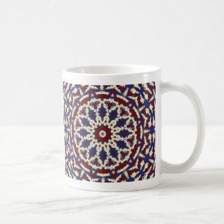 Americana Kaleidoscope Coffee Mug