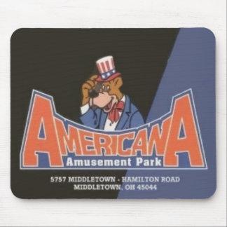 Americana Lesourdesville Amusement Park Monroe OH Mouse Pad