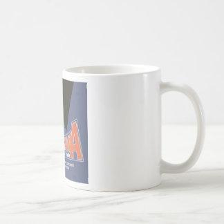 Americana Lesourdesville Amusement Park Monroe OH Coffee Mug