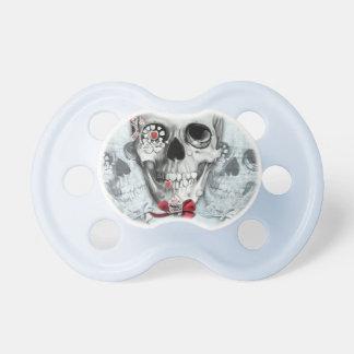Americana lollipop skulls pacifier