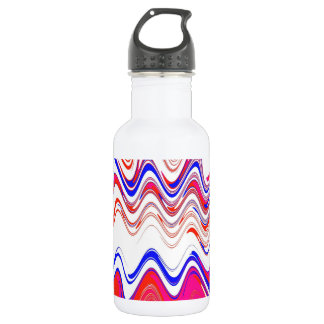 Americana marbled water bottle