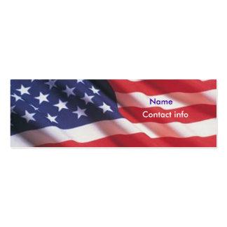 Americana Mini Business Card