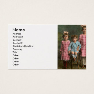 Americana - Molly, Solly and Bertie Business Card