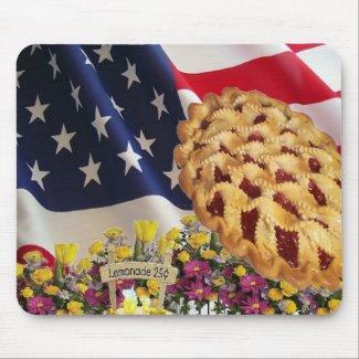 Americana Mousepad mousepad