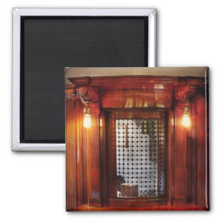 Americana - Movies - Ticket Counter 2 Inch Square Magnet