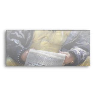 Americana - ocasional lectura de un periódico