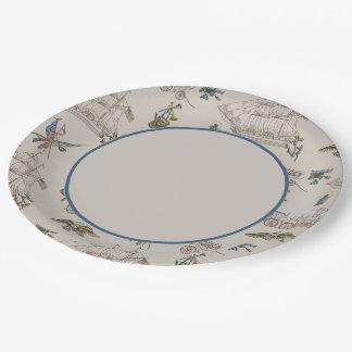 Americana Paper Plate
