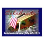 Americana patriotic invites
