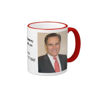 Americana:  Politics:  Mitt Romney Ringer Mug