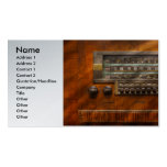 Americana - Radio - Remember what radio was like Double-Sided Standard Business Cards (Pack Of 100)