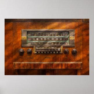 Americana - Radio - Remember what radio was like Posters