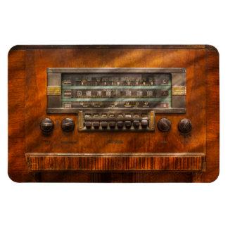 Americana - Radio - Remember what radio was like Rectangular Photo Magnet