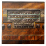 Americana - Radio - Remember what radio was like Ceramic Tile