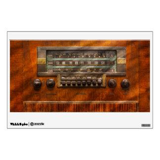 Americana - Radio - Remember what radio was like Wall Sticker