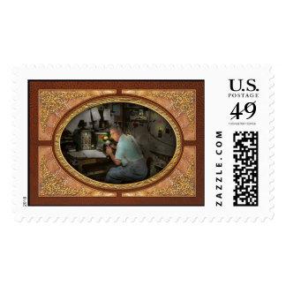 Americana - Radio - The conspiracy expert - 1948 Stamp