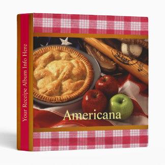 Americana Recipe Binder