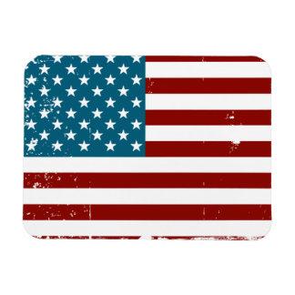 Americana Rectangular Photo Magnet