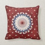 Americana Red White and Blue Patriotic Stars Pillows