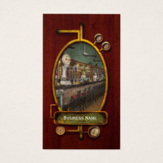 Americana - Soda - The people's soda fountain 1928 Business Card