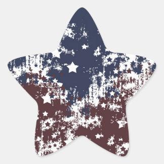 Americana Star Sticker