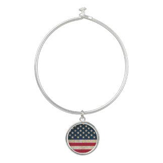 Americana Stars and Stripes Bangle Bracelet