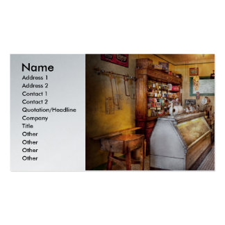 Americana - Store - At the local grocers Business Cards