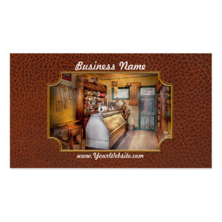 Americana - Store - At the local grocers Business Card Template